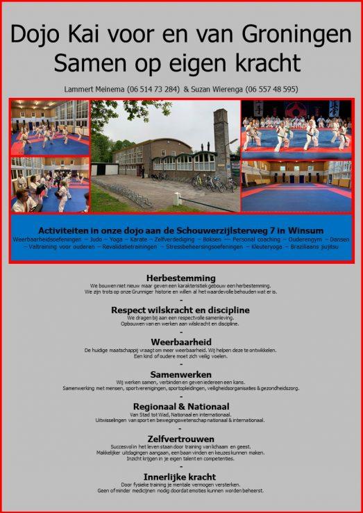 De Toukomst Groningen Dojo Kai (1)